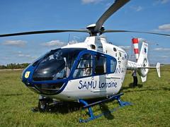 Eurocopter EC-135 T1 (Alexandre Prevot) Tags: france helicopter nancy 100 lorraine ans samu anniversaire est eurocopter ec135 hélicoptère aéroport helikopter essey aéroclub 100ans samulorraine aéroclubdelest nancyessey