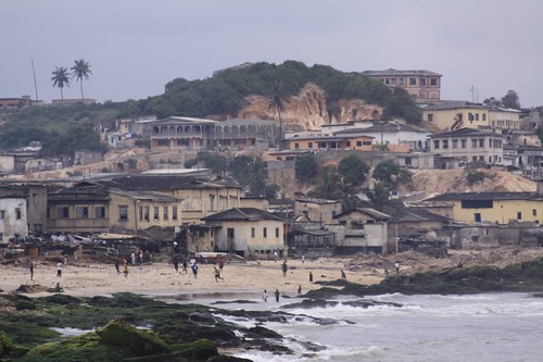 Cape Coast fishing town.