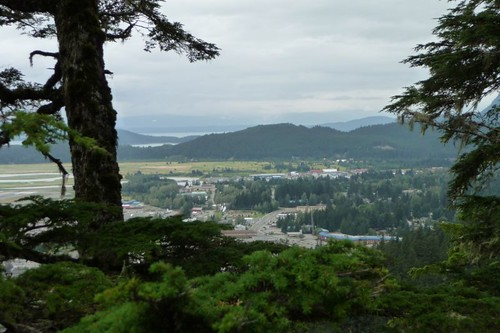 Looking towards Juneau
