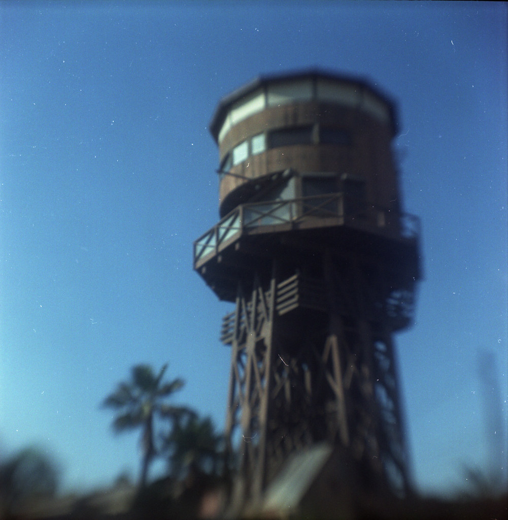 Water tower with a view