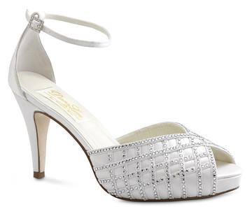 Type of elegant wedding shoes.