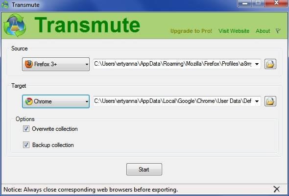 transmute converter