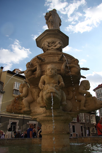 Fountain with Sky