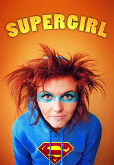 SUPERGIRL (basistka) Tags: supergirl basistka woman girl hair poland deviantart