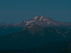Glacier Peak at Sunset from Three Fingers