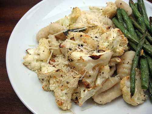 Gnocchi with Roasted Cauliflower