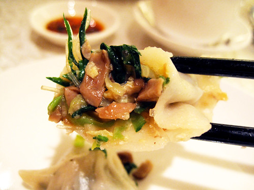 vegetable dumplings @ victoria city restaurant