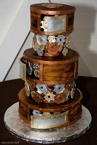 Steampunk Wedding Cake (Full)