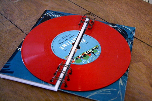 45 Vinyl Record Notebook by Nerd Nest