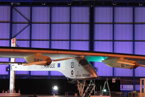 Full Solar Glory - click the picture to see my Flickr gallery on Solar Impulse