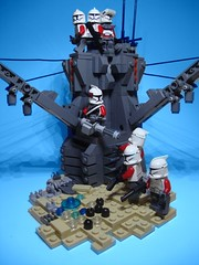 Mission 7.2 [Explored] (jestin pern) Tags: fiction trooper star lego space 7 science company corps mission fi wars squad clone yankee 72 sci gand legion crusaders 457th 707th