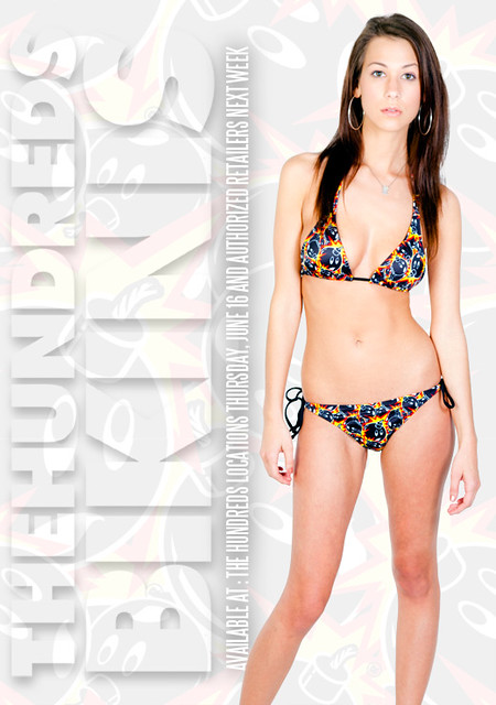 Today ~ The Hundreds Launches its LE Women's Adam Bikini