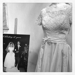 6-11-11 (mkrumm1023) Tags: anniversary weddingdress oldies