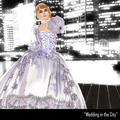 inai wedding in the city (Ina Centaur) Tags: wedding rio purple flirt violet lilac bp gia wunderlich ranika icskins iceyes