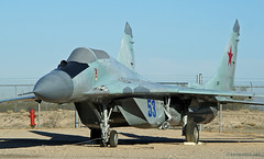 Mikoyan-Gurevich MiG-29 Fulcrum (Ken's Aviation) Tags: arizona tucson pima photosafari airmuseum gurevich mikoyan mig29 fulcrum upcoming:event=1420165