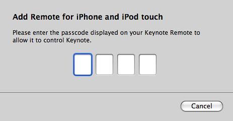 Keynote-Remote-Link-Device-Code