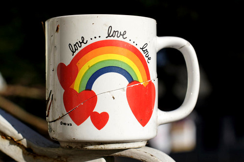Rainbow Heart—Love Mug