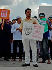 Stop Violation (akay6669) Tags: student war peace palestine muslim islam rally gaza aman utp perak pelajar akay perang palestin universititeknologipetronas perarakan akayart