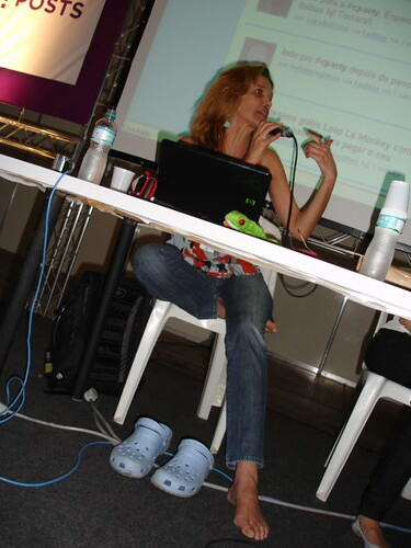 Lu Freitas no Debate Universo Feminino