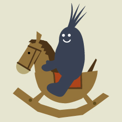 LocoRoco 2 rocking horse