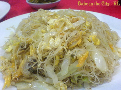 Fried Mee Hoon With Lala (RM6.00)