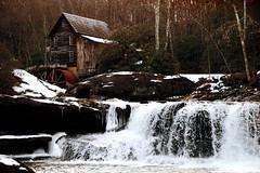 Babcock Winter (capn madd matt) Tags: statepark winter snow cold mill ice water creek river stream falls wv westvirginia waterfalls babcock gristmill babcockwinter2009
