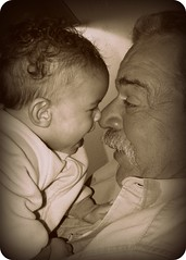 Kyson and Gramps
