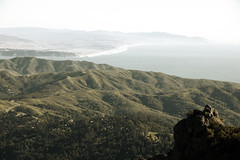 Marin Headlands, From Above (andrewallenmoore) Tags: ocean county beach rock rocks view marin hills headlands