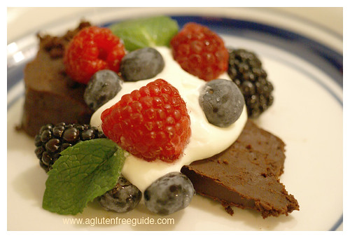 Best Flourless Chocolate Cake Recipe Gluten Free slice web