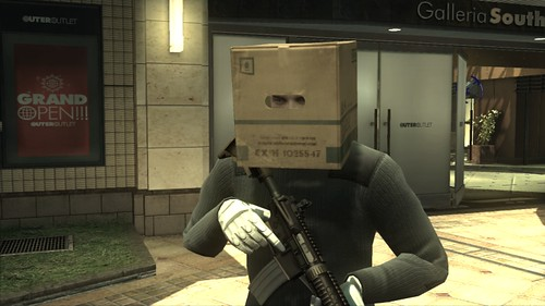 Metal Gear Online SCENE Expansion Screenshot Boxman