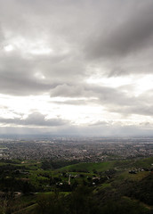 Clouds over the valley