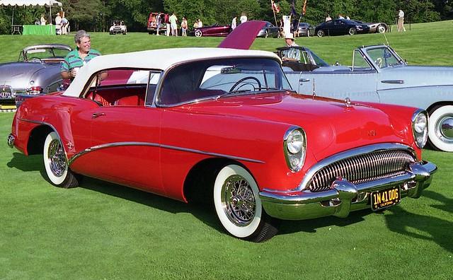 buick convertible 1954 skylark gmfyi 1954buickskylark meadowbrookconcours1995 ©richardspiegelmancarphoto