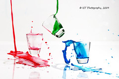 Primary Anger (ICT_photo) Tags: motion studio colours guelph drop d200 splash shotglass primary foodcolouring tamron90 ictphoto ianthomasphotography ianthomasguelphontario