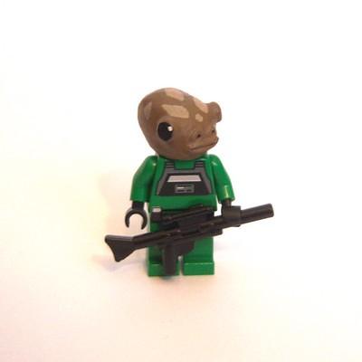Enkal Niaten: Republic Mercenary custom minifig