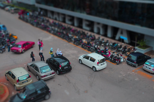 tiltshift at kolej shahputra
