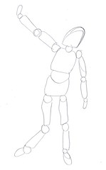 drawing poseable figure2