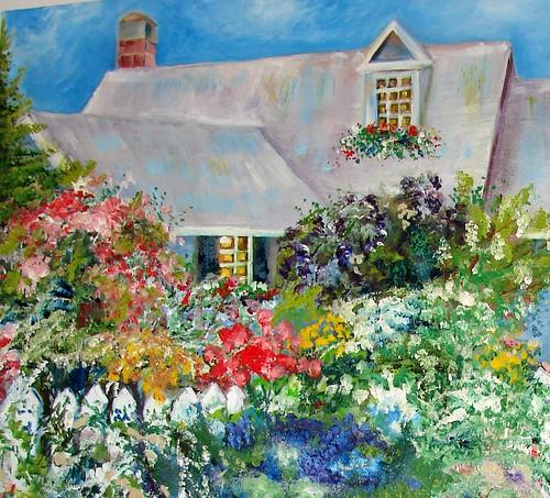 closeup cottage
