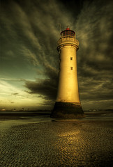 Perch Rock.. (jetbluestone) Tags: winter lighthouse evening hdr wirral newbrighton top20lh perchrock aplusphoto theunforgettablepictures