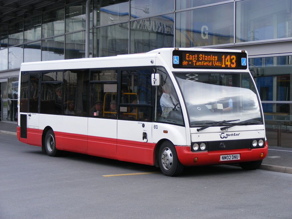 Go North East: 0613 NM02DNU Optare Solo (by emdjt42)