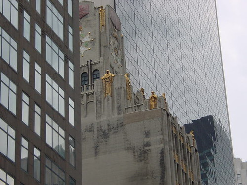 NYC - 9 West 57th Street, Ampico building and the Solow Building