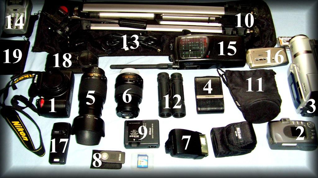 todays camera equipment