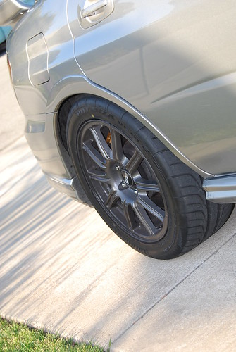 2008 Subaru Impreza Wrx >> Tires/Wheels Pics of 245/40R17 (or 245/45R17) on stock 05 ...