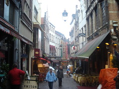 Brussels Side Street, Belguim