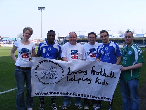 team Blue meet Aaron Mclean and Charlie Lee