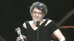 Jane Espenson with BSG streamy award