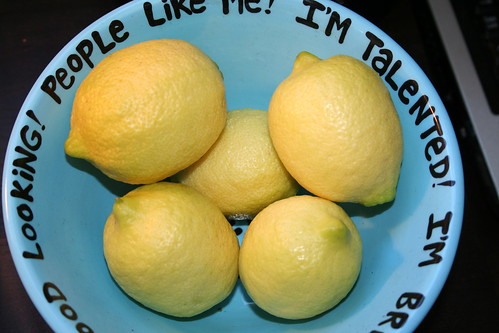 big bowl o'self-esteem (and lemons)