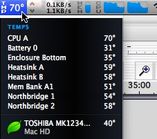 Can high CPU temperatures explain my Macbook stalling?