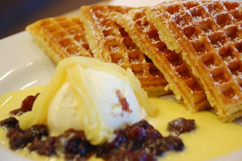 Chestnut Waffle Breakfast