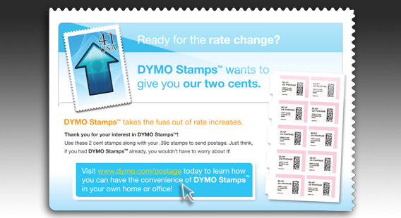 Dymo Display Ad