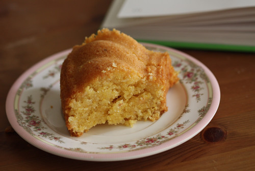 Gluten-Free Lemon Almond and Polenta Cake